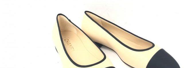 シャネル(CHANEL)新品靴底修理