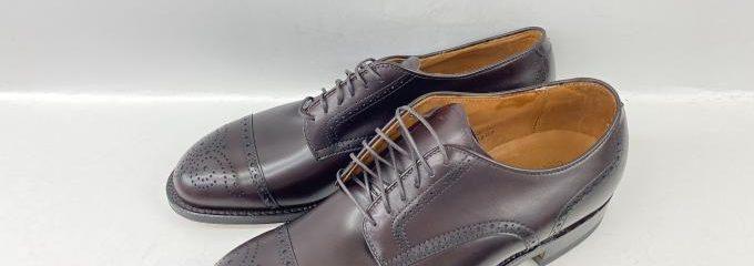 オールデン×シップス(ALDEN × SHIPS)新品靴底事前補強