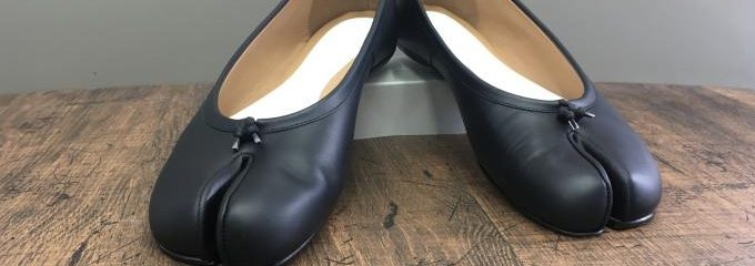 メゾン マルジェラ(Maison Margiela)タビバレエシューズ事前靴底補修