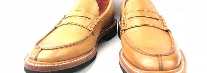 トリッカーズ(TRICKER'S)ビブラムガムライトオールソール靴底修理