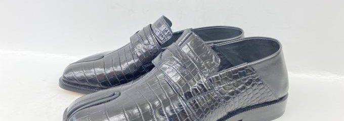 メゾン マルジェラ ペニーローファー(Maison Margiela)足袋シューズ新品靴底補強