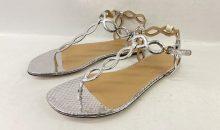 セルジオロッシ(sergio rossi)新品靴底補強修理