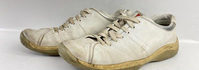 プラダ(PRADA)スポーツ靴底交換修理