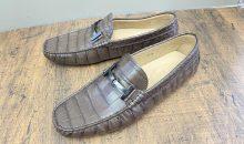 トッズ(TOD'S )ドライビングシューズ靴底補強修理