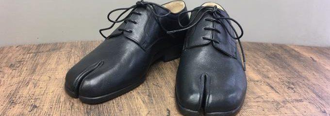 メゾン マルジェラ(Maison Margiela)足袋シューズミクロピラハーフソール修理