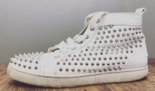 クリスチャン・ルブタン(Christian Louboutin)ルイススパイク 経年劣化靴底修理