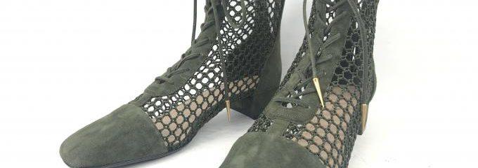 クリスチャンディオール(Christian Dior)シルクハーフソール事前補強修理
