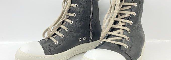 リックオウエンスラモーンズレザー(Rick Owens)靴底修理