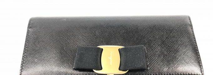 サルバトーレフェラガモ(salvatore feragamo)財布ヴィラリボン交換