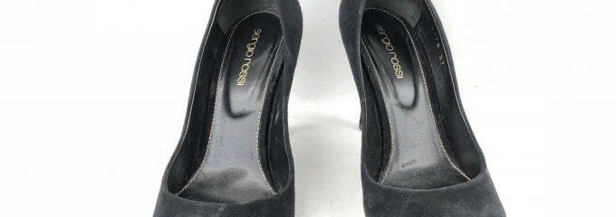 セルジオロッシ(sergio rossi)靴修理事前補強