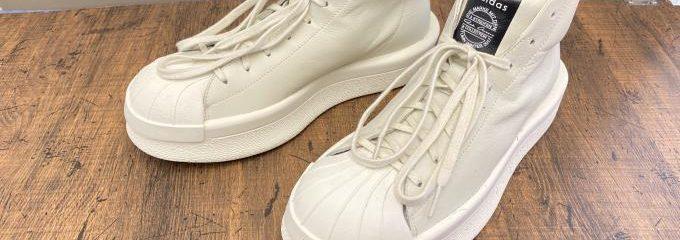 リックオウエンスマストドン 靴底補修修理
