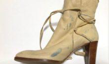 シャネル(CHANEL)靴補色