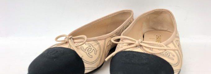 シャネル(CHANEL)靴補強修理