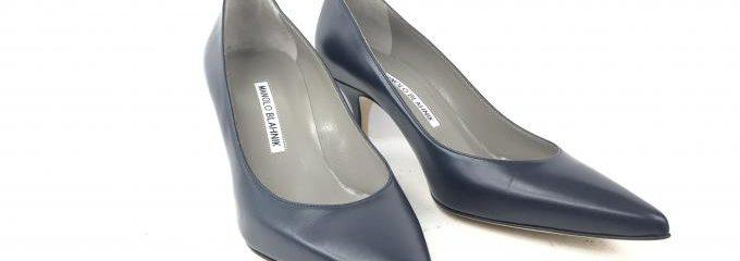 マノロブラニク(Manolo Blahnik)新品靴底補強修理