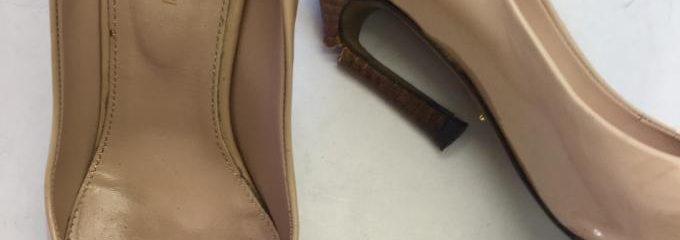 セルジオロッシ(Sergio Rossi) 靴修理 ・メンテ ヒール折れ