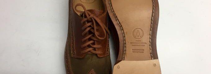 ビズビム(visvim)靴修理・メンテ