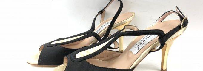マノロブラニク(Manolo Blahnik)新品靴修理