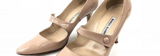 マノロブラニク(Manolo Blahnik)新品靴底修理補強