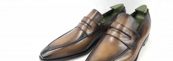 ベルルッティアンディ (Berluti andy)靴補強修理