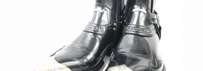 バレンシアガ(BALENIAGA)靴事前補強修理
