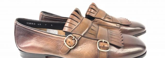 サントーニ(SANTONI)靴事前補強修理