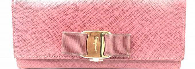 サルバトーレフェラガモ(salvatore feragamo)財布ヴァラリボン交換修理