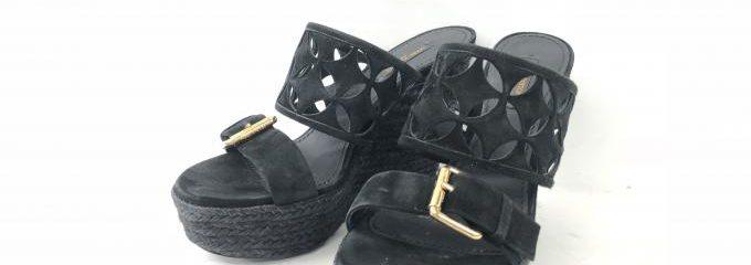 ルイヴィトン(LOUIS VUITTON)厚底カット靴修理