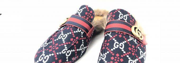 グッチ(GUCCI)新品靴底補強修理
