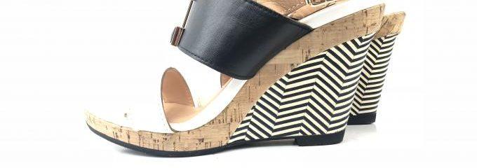 ランバン(LANVIN)厚底カット靴修理。